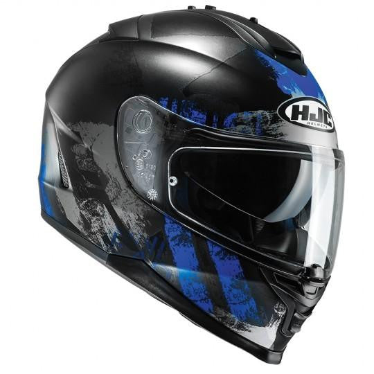 HJC IS-17 Shapy MC2SF Blue Helmet