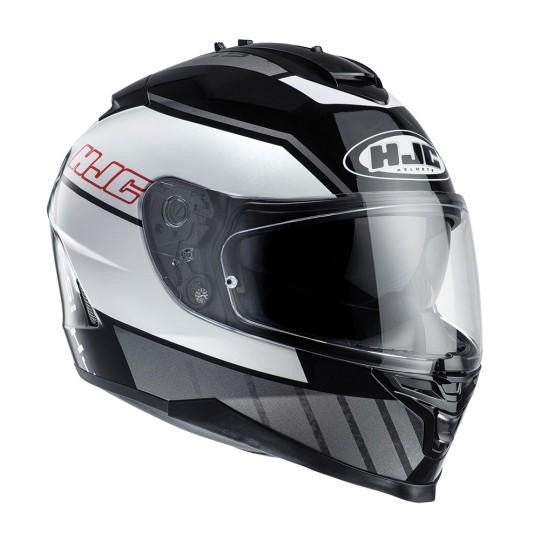 HJC IS-17 Tridents MC5 Black/White Helmet