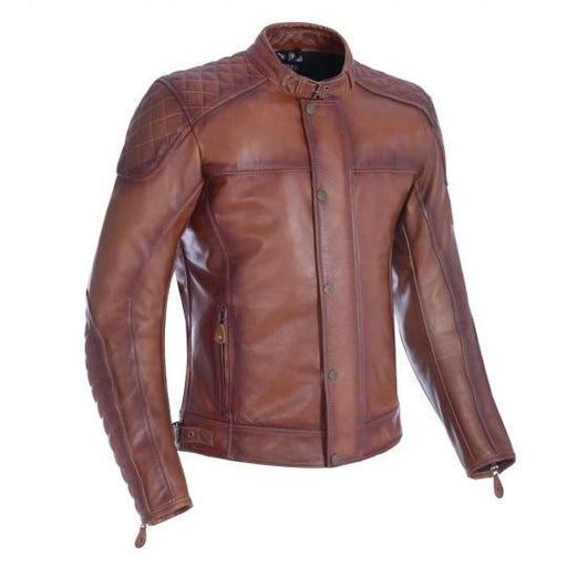 Oxford Hampton MS Leather Jacket Bourbon