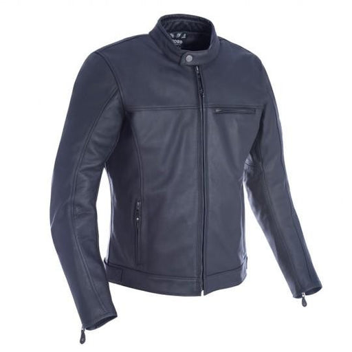 Oxford Walton MS Leather Jacket Black