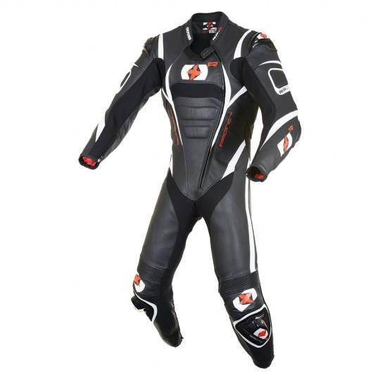 Oxford RP-1 Leather Suit Black/White
