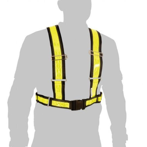 Oxford Reflective Bright H-Belt Hi-Viz Yellow