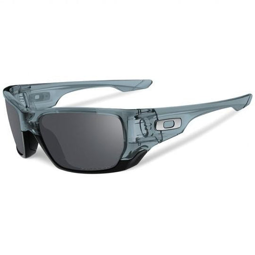 Oakley Style Switch Sunglasses Black Polar/Chrome