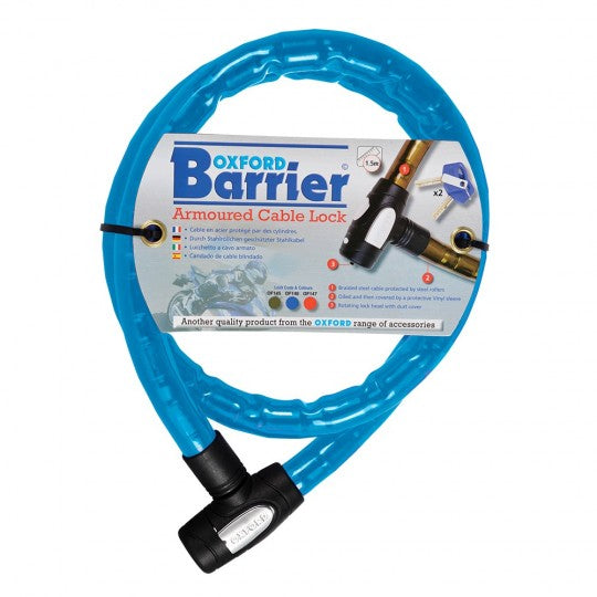 1.4m x 25mm Barrier Blue