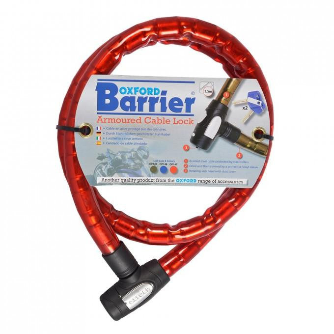 1.4m x 25mm Barrier Red