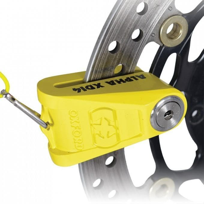 Alpha XD14 Disc Lock 14mm Yellow