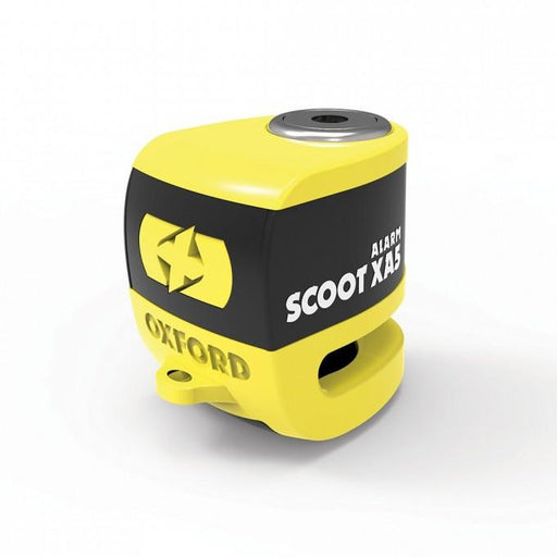 Scoot XA5 Alarm Disc Lock 5.5mm Yellow/Black