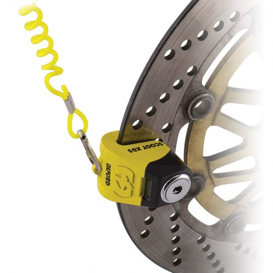 Scoot XD5 disc lock 5mm Yellow Black