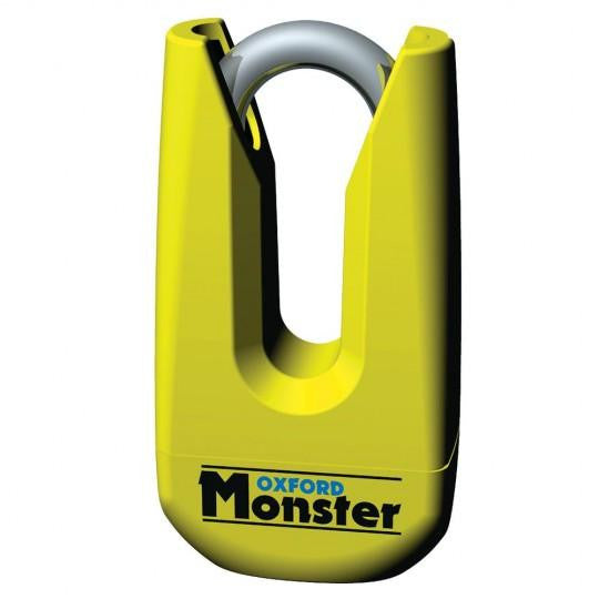 Monster Disc Lock Yellow