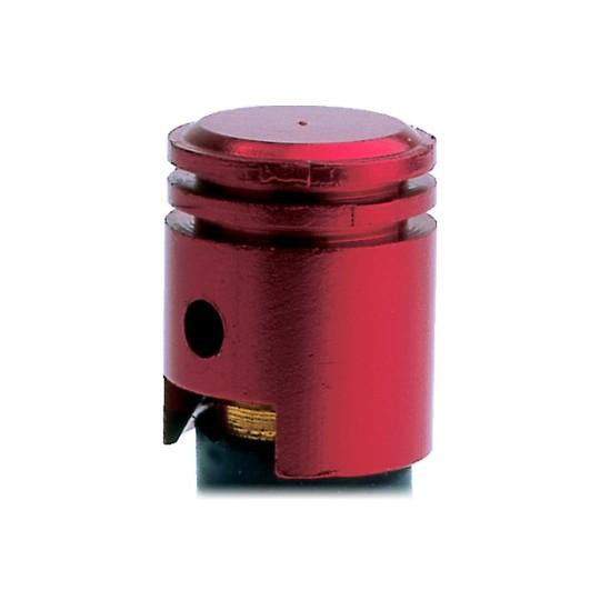 Piston Valve Caps Red