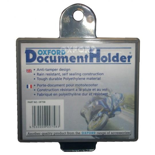 Plastic Insurance Slip Holder (Square)