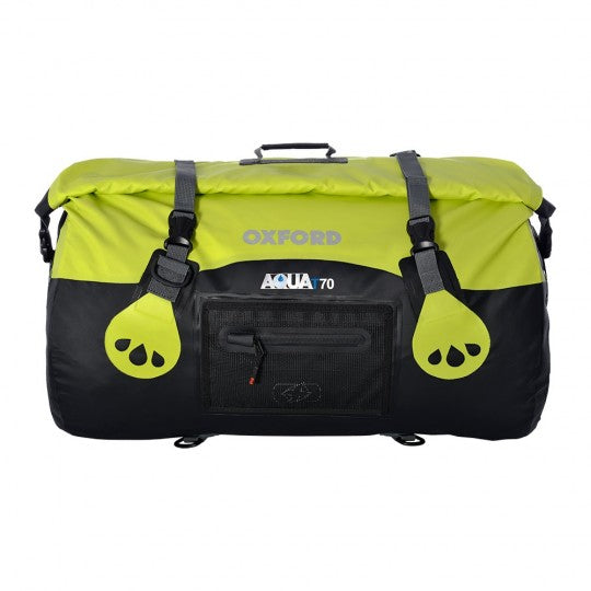 AQUA T-70 Roll Bag - Black/Fluo