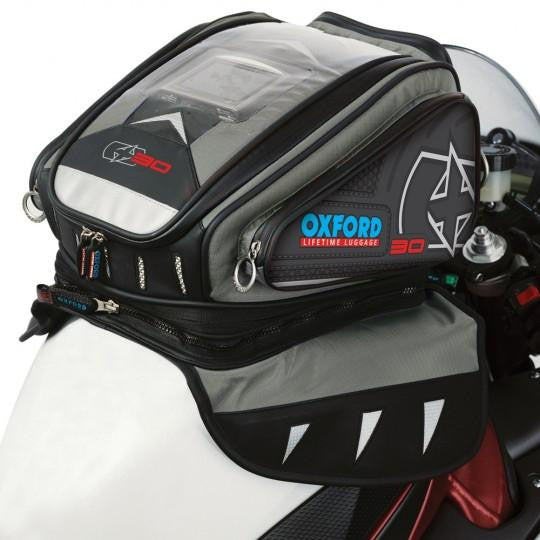 Oxford X30 Magnetic/Strap-On Tank Bag 2014 30L Anthracite