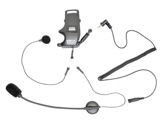 Sena Helmet Clamp Kit Earbuds Attached Boom Mic & Wired Mic SMH-A0304
