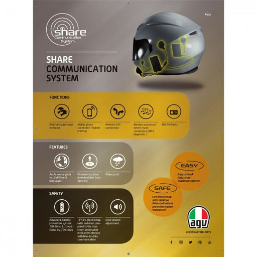AGV SIDE EASY SHARE VI K5 K3SV K1