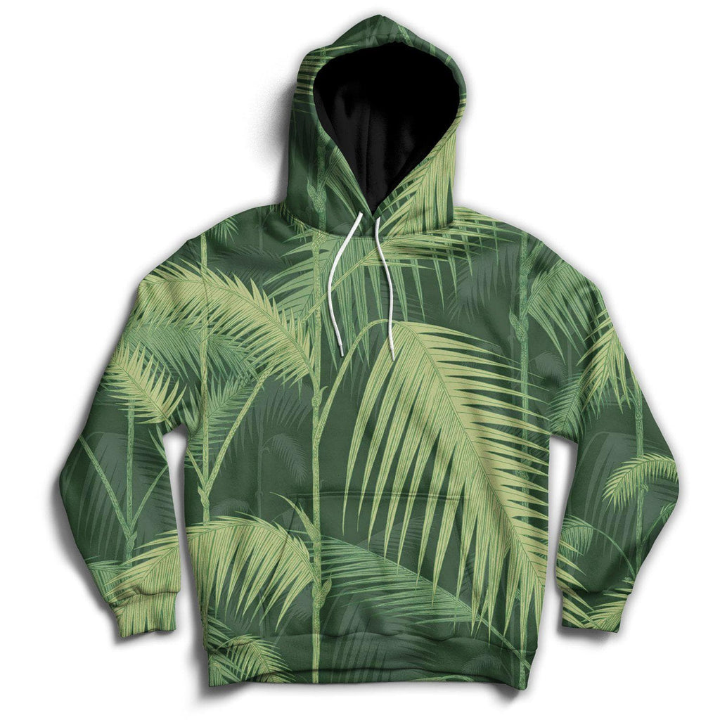 Jungle Leaves Hoodie - DankApparel