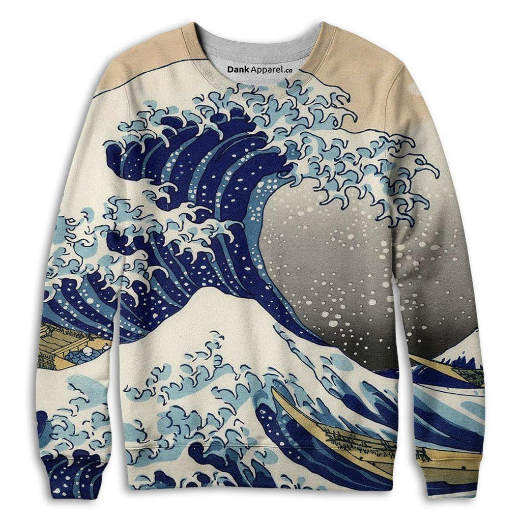 The Great Wave Sweatshirt - DankApparel
