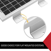 4 pcs Solar panel Z-bracket Mounting Roof Caravan Boat Camper
