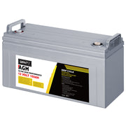 150Ah Deep Cycle Battery 12V AGM Marine Sealed Power Portable Box Solar Caravan Camping