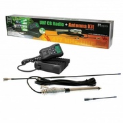5 WATT 80 CHANNEL 12 24V UHF CB RADIO KIT