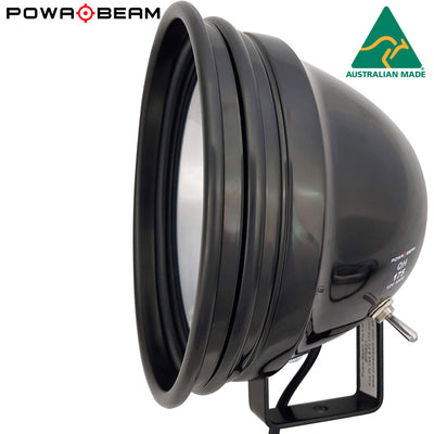 "Powabeam 175mm/7"" QH 100W Spotlight with Bracket"
