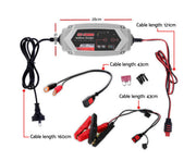 Smart Battery Lithium Charger 15A 12V 6V Automatic