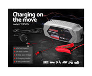 Smart Battery Lithium Charger 7A 12V 6V Automatic