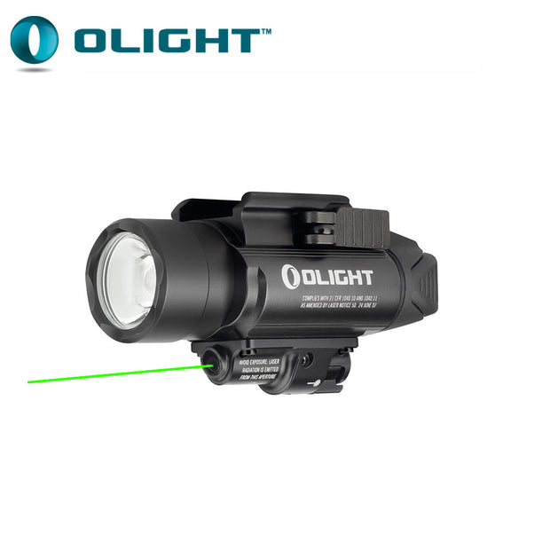 Olight BALDR Pro Rail Mount Light with Green Laser - 1350 lm