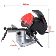 320W Chainsaw Sharpener Bench Mount Electric Grinder Grinding Tools