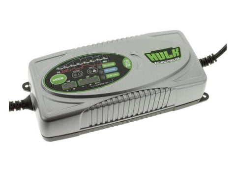 HULK 8 STAGE FULLY AUTOMATIC SWITCHMODE BATTERY CHARGER - 7.5 AMP 12/24V