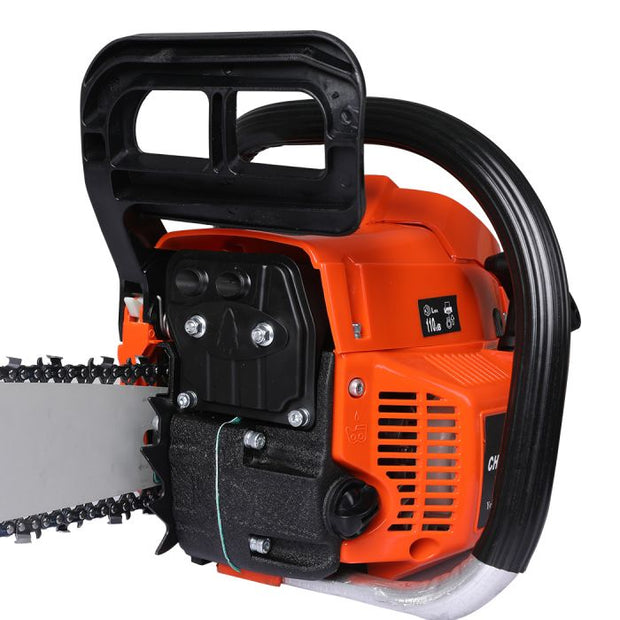 "Petrol Chainsaw Commercial E-Start 20"" Bar 52CC"