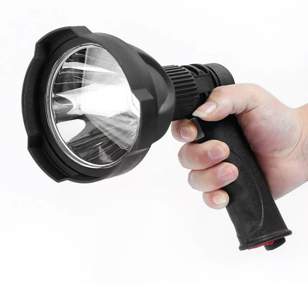 LED Rechargeable Handheld Spotlight with USB Port