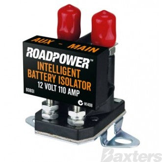 Roadpower Dual Battery Intelligent Isolator 12V 110A Slim Type