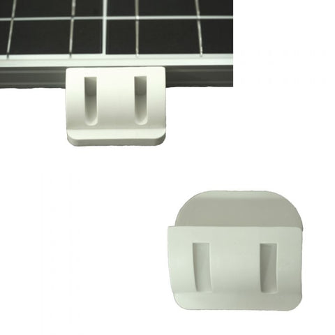Solar Panel Corner Cable Mounting Bracket Entry Motorhome Caravan RV Boat