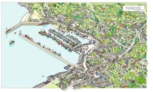 Newlyn map