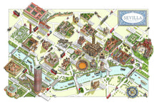 Map of Seville