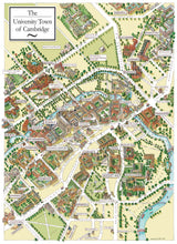 Cambridge University Map