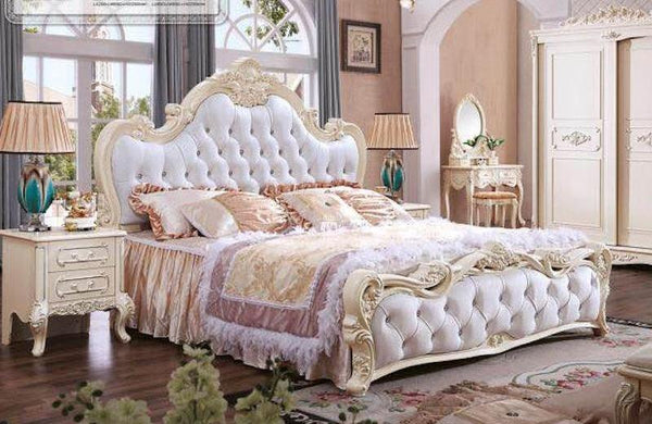FRENCH STYLE BEDROOM FURNITURE SET - 5 PIECES