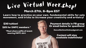 Virtual Workshop Pass - Mar 27.