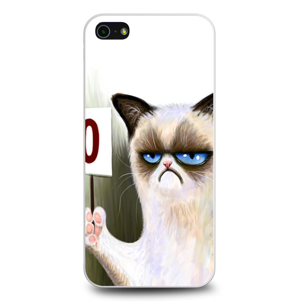 Angry Cat Grumpy iPhone 5/5s/SE case