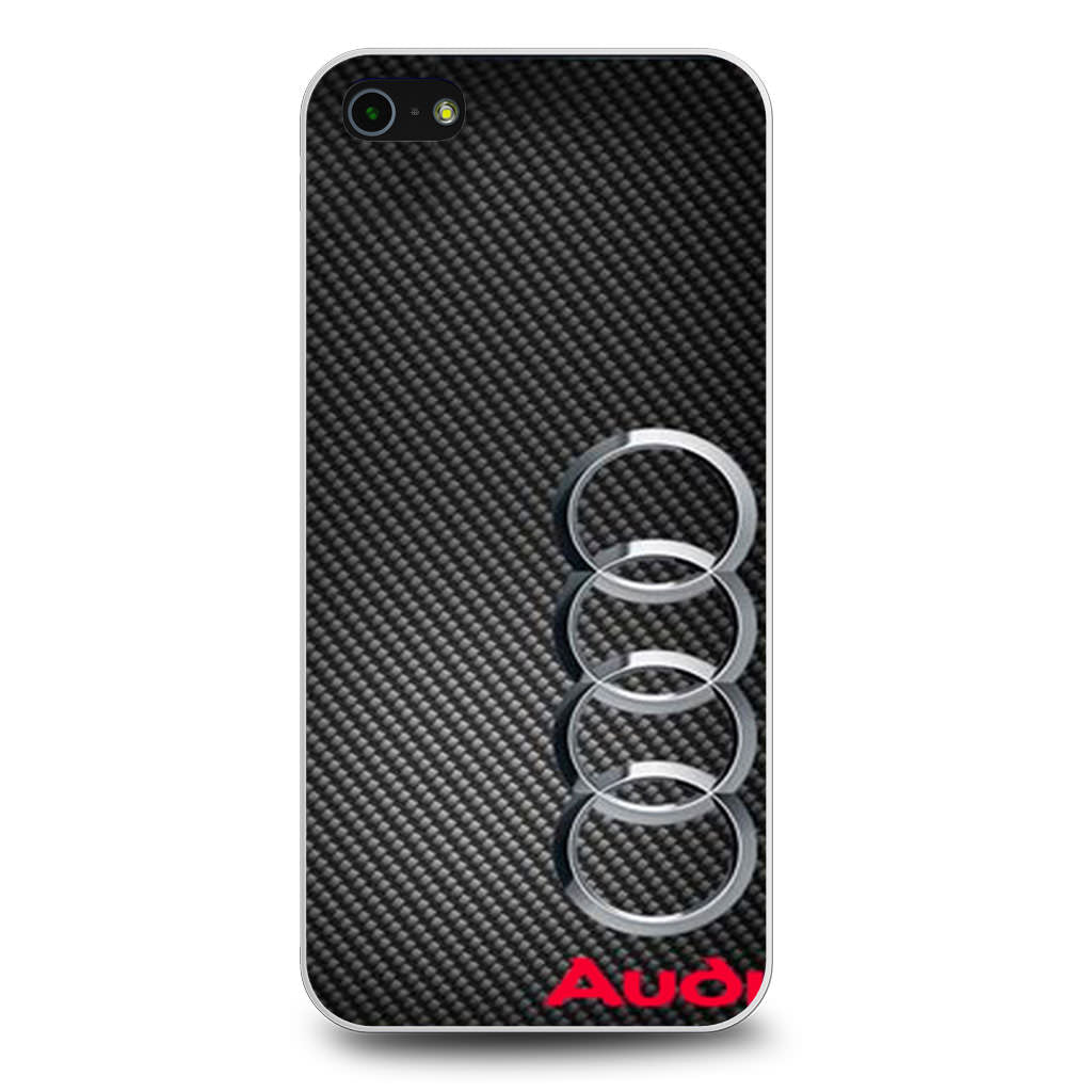 Audi Carbon Fiber Look iPhone 5/5s/SE case