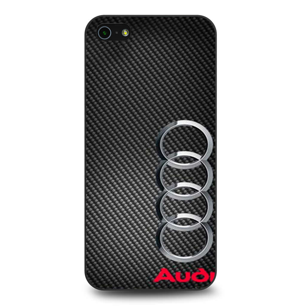 Audi Carbon Fiber Look iPhone 5 5s SE case