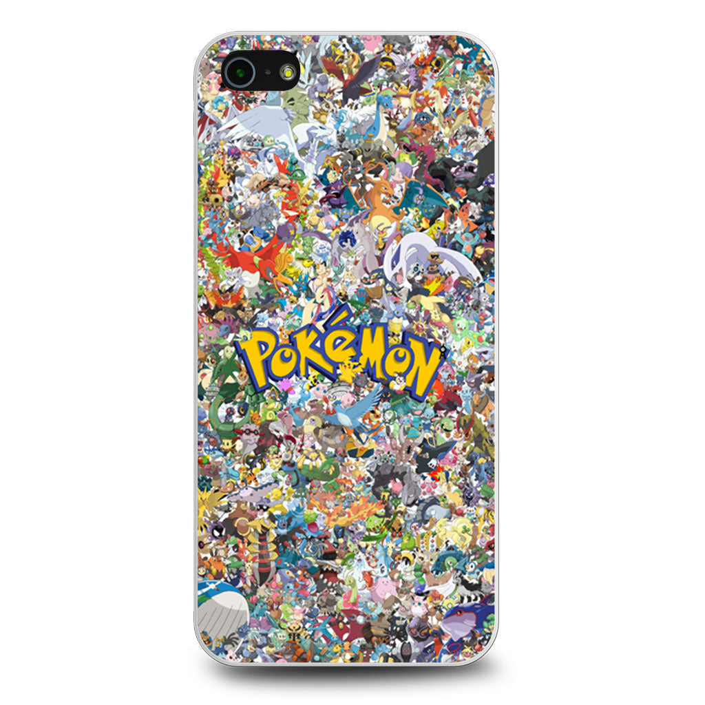 All Pokemon Considered iPhone 5/5s/SE case