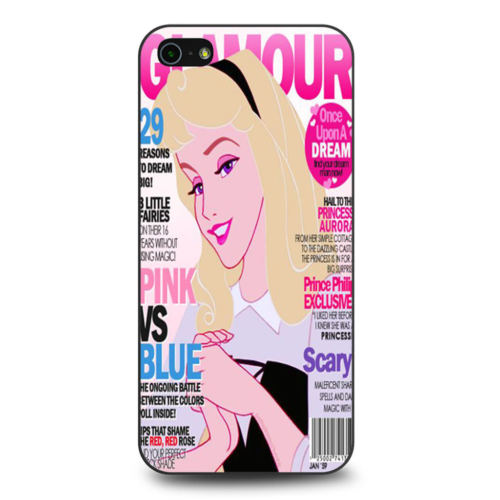 Aurora Glamour iPhone 5 5s SE case