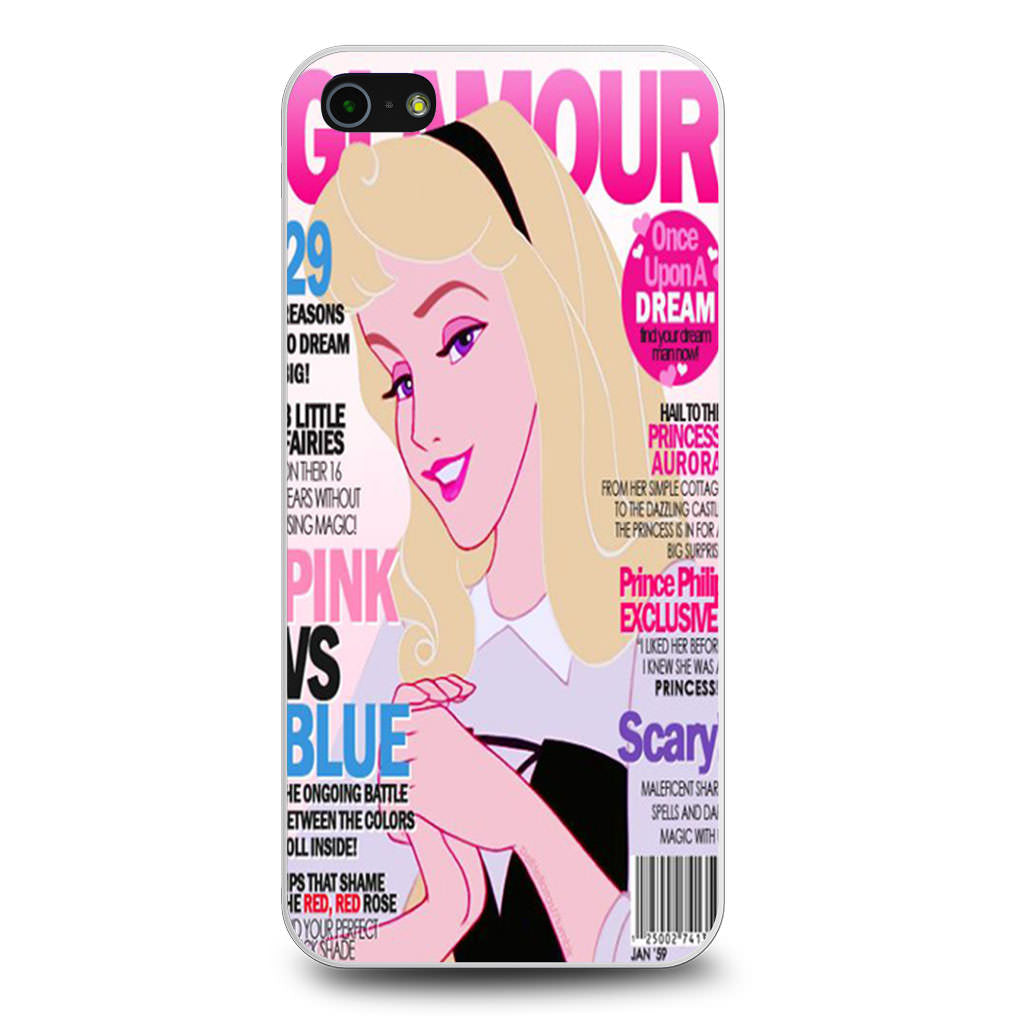 Aurora Glamour iPhone 5/5s/SE case