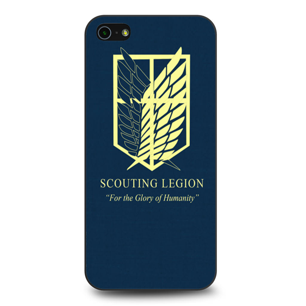 Attack on Titan Scouting Legion iPhone 5 5s SE case