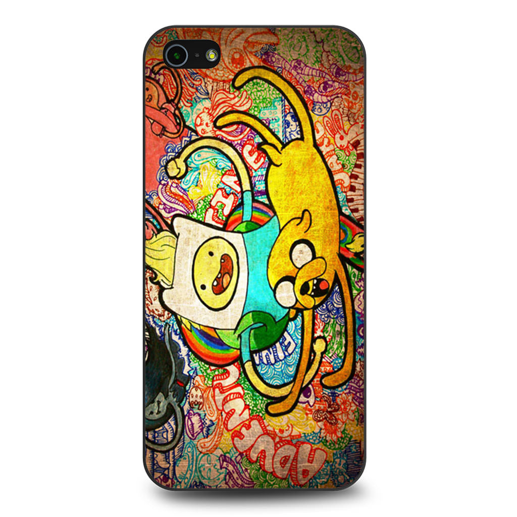 Adventure Time Grafitty iPhone 5 5s SE case