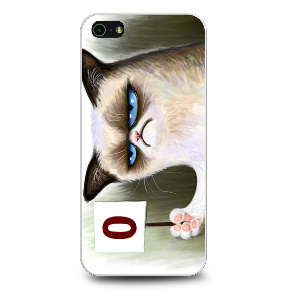 Angry Grumpy Cat iPhone 5/5s/SE case