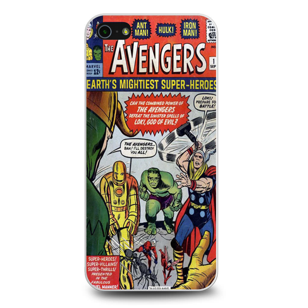 Avengers Comic iPhone 5/5s/SE case