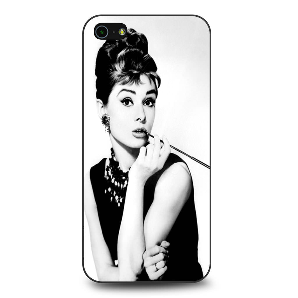 Audrey Hepburn iPhone 5 5s SE case